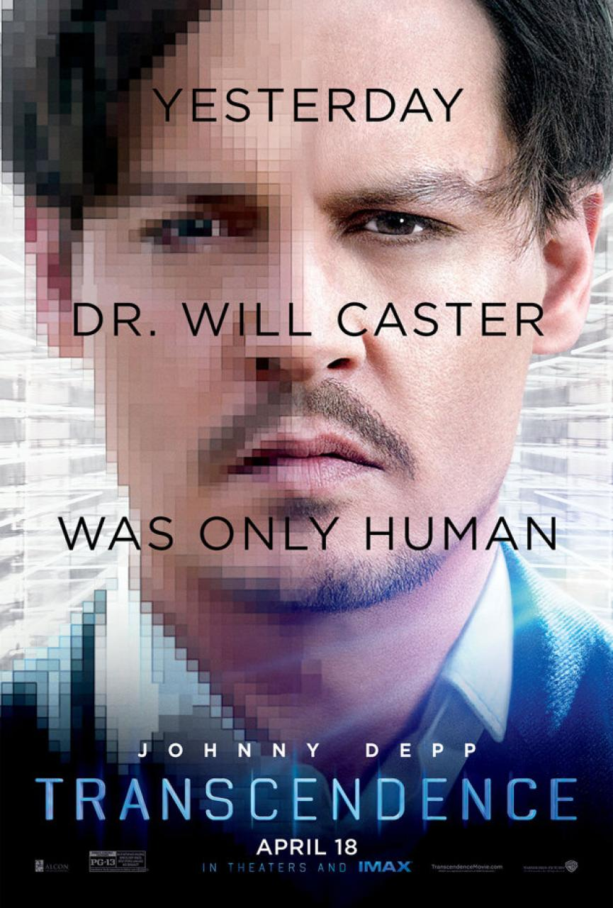 Johnny Depp in New Poster for Transcendence